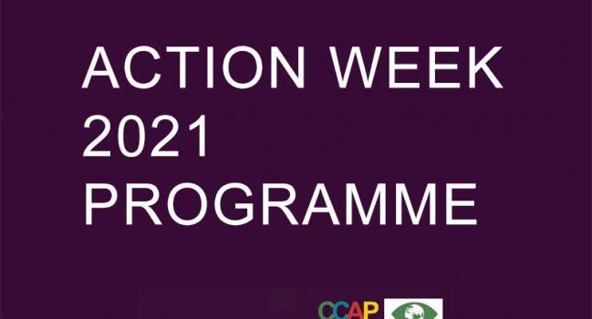 ACTION WEEK 2021 PROGRAMME